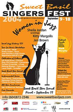 Singersfest poster