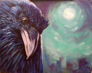Blue Moon Raven